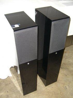 (2) Audio Pro Black Diamond Loudspeaker Systems