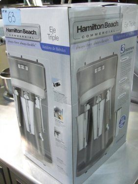 New Hamilton Beach HMD400 Triple Commercial Blender