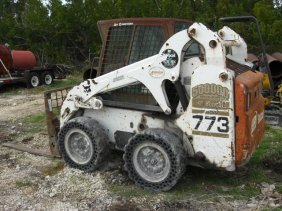 2002 Bobcat 773 Turbo W/Bucket & A/C