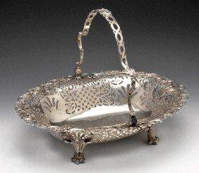George II Silver Bread Basket.