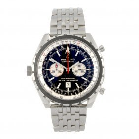 A Stainless Steel Automatic Gentleman's Breitling N