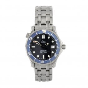 (050536) A Stainless Steel Quartz Mid-size Omega Se