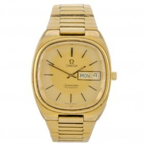 A Gold Plated Automatic Gentleman's Omega Seamaste