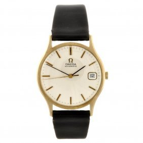 A 9ct Gold Automatic Gentleman's Omega Wrist Watch