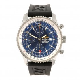 (104335) A Stainless Steel Automatic Chronograph Ge