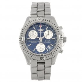 (917004494) A Stainless Steel Quartz Chronograph Ge