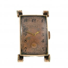 A Group Of Six Watches, To Include Examples Gruen,