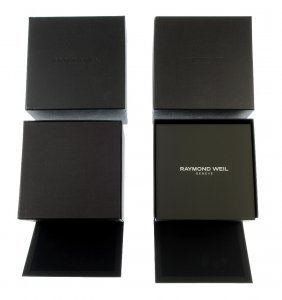 A Selection Of Raymond Weil Watch Boxes. Approximately