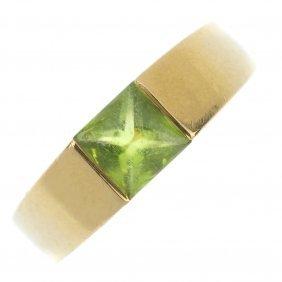 A Peridot Ring.