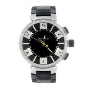 Louis Vuitton - A Gentleman's Tambour Chronograph Wrist