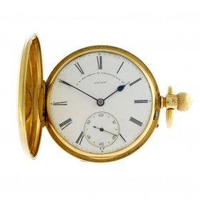 A Full Hunter Pocket Watch By G.e. Frodsham, London.