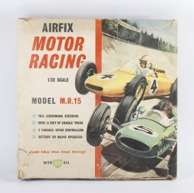 An Airfix M. R. 15 Plastic Model Motor Racing Set In