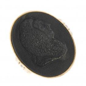 Wedgwood - Late Georgian Gold Seal Ring, Circa 1780.