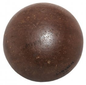 "2 11/16"" Hardstone Biscuit Discoidal. Lincoln Co, Mo."