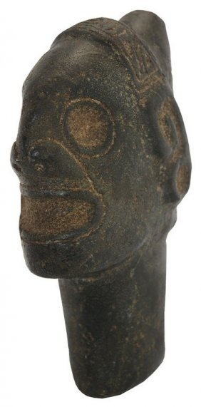 "8"" Taino Ancestor Stone Image. Detailed, Excellent"