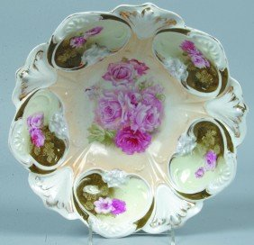 """RS Prussia Bowl, 10.75""""d., Mold 79; FD1 In Center W"""