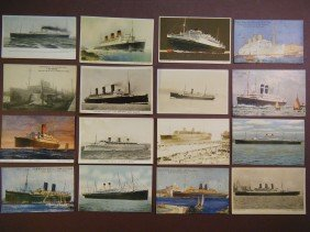 (Vintage Steamship/Ocean Liner PCs) Included In This