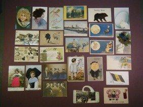 (43 Vintage Novelty & Dog PCs) 25 Novelty & Related