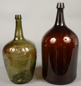 Two Late 18th/Early 19th Century Blown Glass Stora