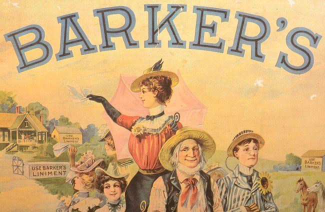 what is barker liniment
