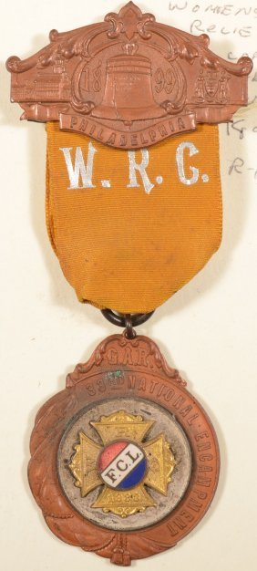 Women's Relief Corps 33rd National Encampment Medal