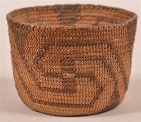 Antique Apache Indian Basket.