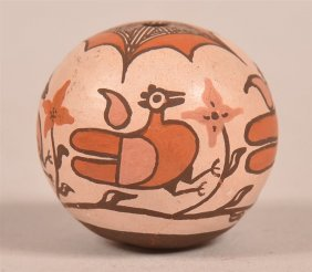 Fine Acoma Pueblo Contemporary Miniature Pottery Seed