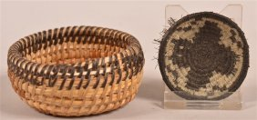 Two Southwestern Baskets.