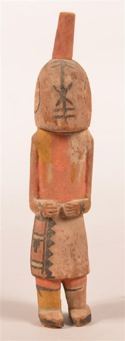 Vintage Hopi Indian Root Carving Of A Kachina.