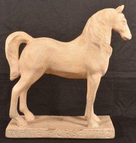 """white Horse 1742"" Whiskey Advertising."