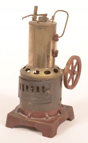 Weeden Vertical Steam Engine Toy.