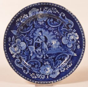 "Staffordshire China ""peace & Plenty"" Plate."
