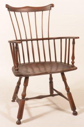 Pennsylvania Windsor Comb-back Armchair.
