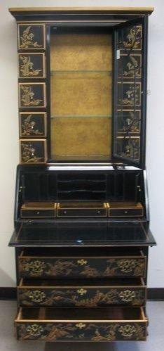 315 chinoiserie secretary bookcase drexel heritage lot 315 - Kleur idee corridor ...