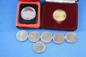 SELECTION OF CANADIAN DOLLAR COINS