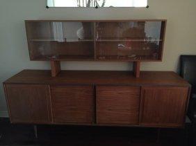 Mid Century Modern Teak Piece Cabinet & Sideboard