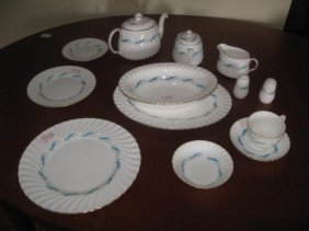 """Minton Dinner Service For Approx. Eight - """"downing"""