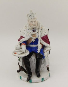 Antique Mystery Box In Form Of Emperor Of Austria