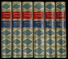 Novels Of The Bronte Sisters Leather Bound