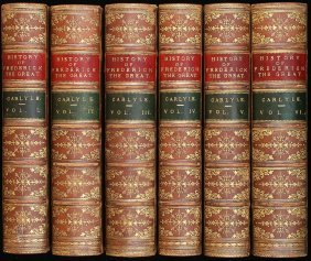 Carlyle's History Of Frederick The Great