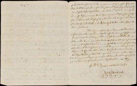 Letter Regarding Lyles Tavern Alexandria, VA