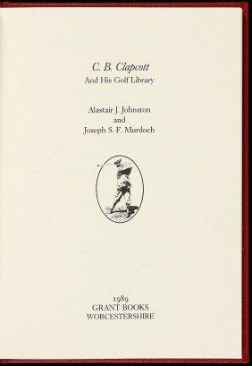 Johnston & Murdoch C.B. Clapcott & His Golf Lib.