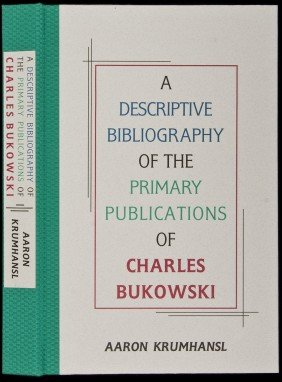 Krumhansl's Bibliography Of Charles Bukowski
