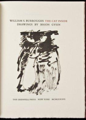 William S. Burroughs The Cat Inside 1/133 Copies