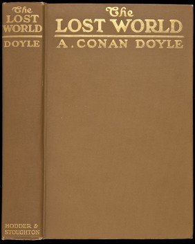 Doyle, The Lost World, 1st US Ed. 1912