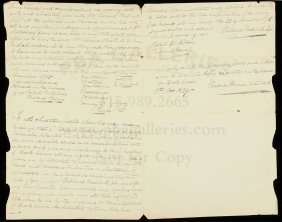 1829 Copy Of 1675 Long Island Indian Land Deed