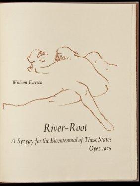William Everson River-Root 1 Of 250 Copies