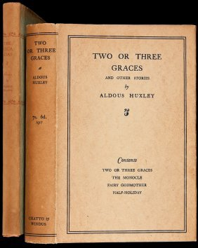 Two Titles By Aldous Huxley