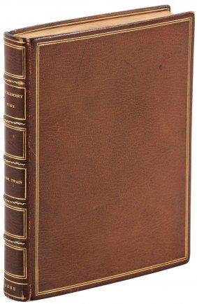 Early Issue Of Mark Twain's Huckleberry Finn
