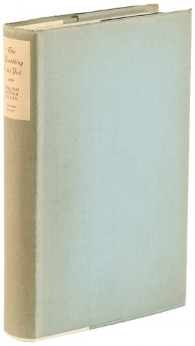 W.b. Yeats Trembling Of The Veil Signed Limited Edition